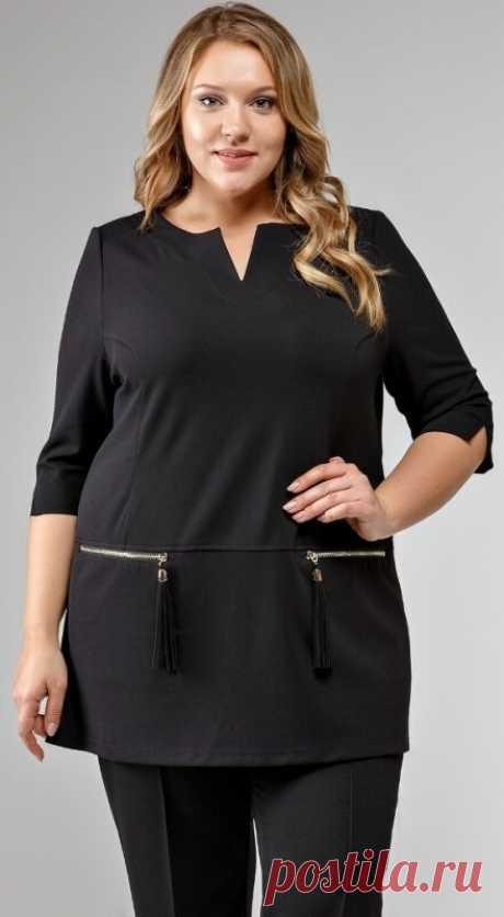 15 моделей туник для полных женщин: почему это лучшая одежда   Мода в деталях   Яндекс Дзен