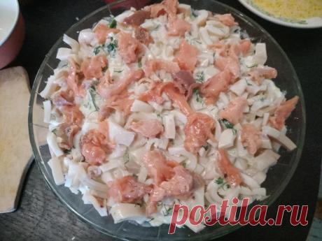 Авторский салат с кальмарами - превзошел все ожидания. | Оля Суворова | Яндекс Дзен