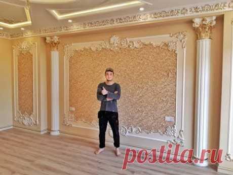 Процесс работы, как делаем ремонт в квартире. Мастер из Таджикистана.