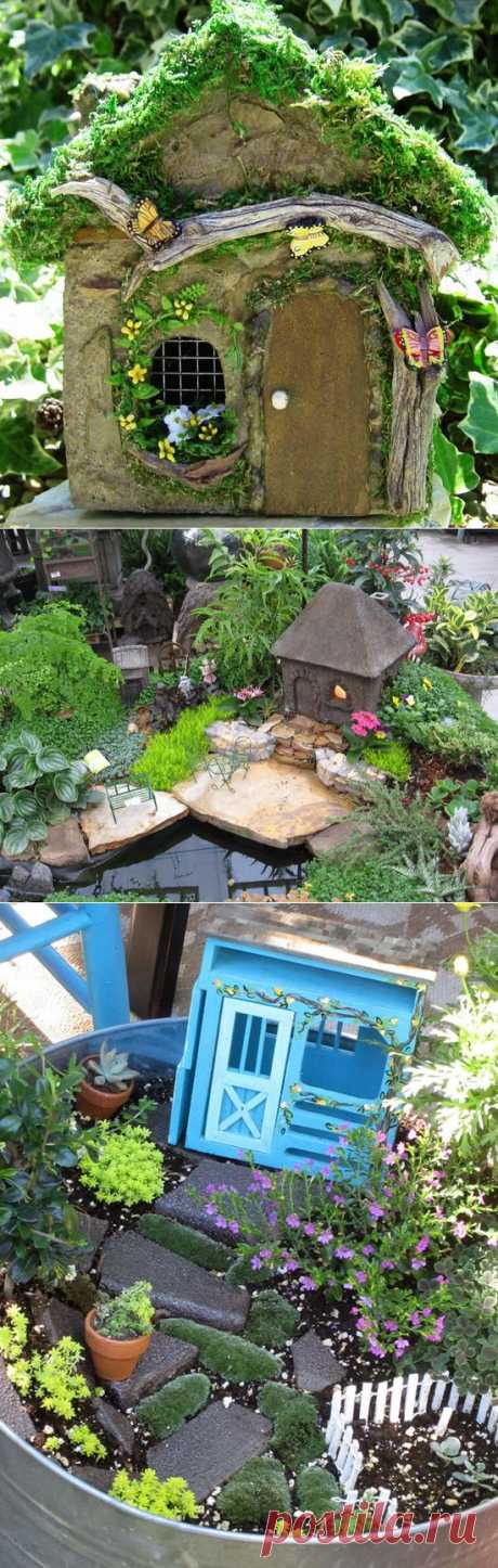 Tiny gardens of fairies