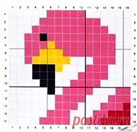 жаккард схема фламинго– Google Поиск