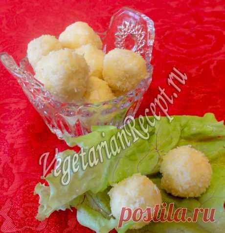 """Закуска """"Рафаэлло"""" очень вкусная и эффектная. Обязательно приготовьте ее на праздничный стол. Очень простой рецепт с фото!"""