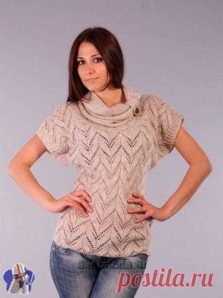Pattern for a summer pullover