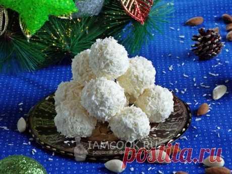Кокосовые конфеты «Снежки» — рецепт с фото пошагово