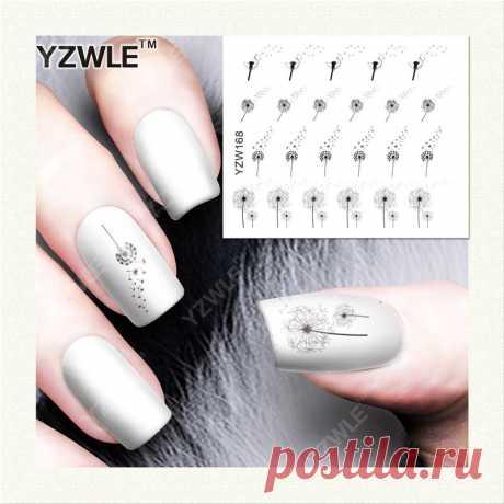 Наклейки для ногтей _ относящое к окружающей среде нетоксическое ногтей наклейки фантазии цветы ногтей искусство полный yzw168 - Алибаба