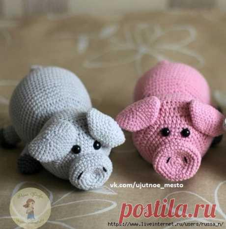 victoria_hobby Свинка-лежебока.