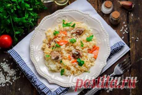 Как приготовить плов, чтобы рис был рассыпчатым: рецепт с фото | Простые рецепты с фото