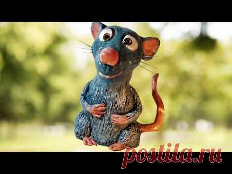 Рататуй🐀♥️Крыса символ 2020 года!Как сделать крысу своими руками.Ratatouille.Rat.DIY. - YouTube