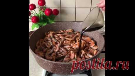 Очень вкусные креветки!