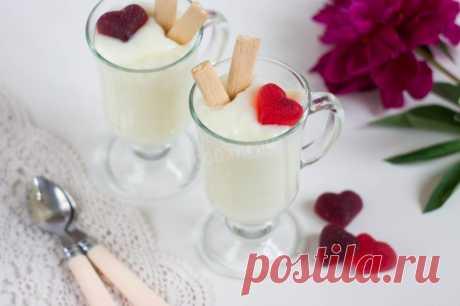 Ванильный пудинг рецепт с фото пошагово - 1000.menu
