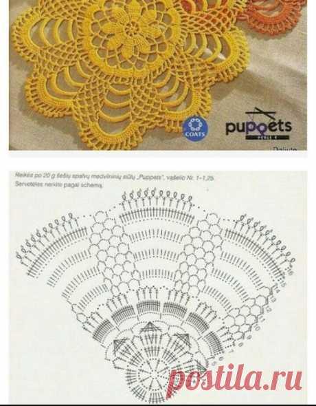 Красивые идеи для вязания салфеток