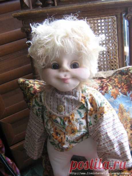 кукла из колготок