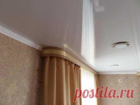 Гардины для штор под натяжной потолок, фото: обзор моделей гардин, карнизов для натяжных потолков, рекомендации по установке