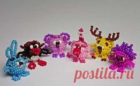СМЕШАРИКИ (бисероплетение) / Разнообразные игрушки ручной работы / PassionForum - мастер-классы по рукоделию