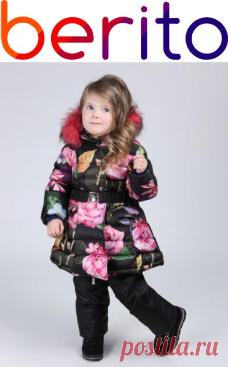 Куртка и полукомбинезон, комплект Borelli  на зиму  для девочки 4305651, купить за 14 200 руб. в интернет-магазине Berito