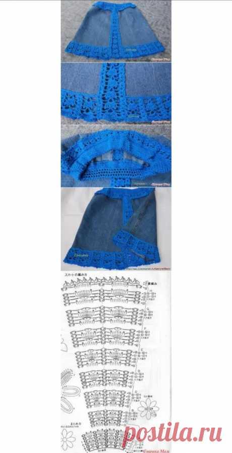 Джинсовые переделки. Вторая жизнь джинсовых вещей.   Волшебный клубочек!   Яндекс Дзен