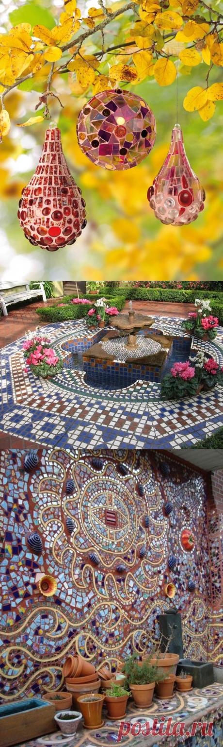 Garden mosaic