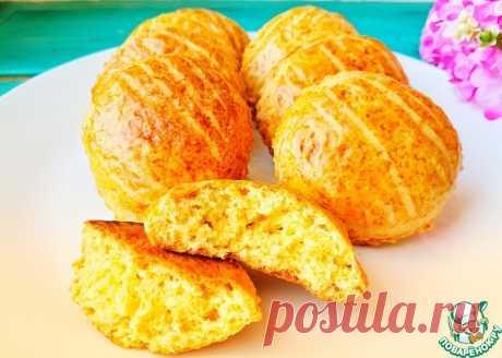 Мягкое апельсиновое печенье Кулинарный рецепт