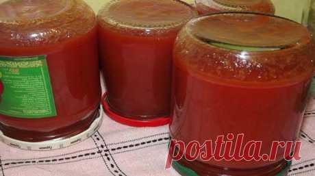 Кетчуп в банках на зиму - рецепт, который способен покорить сердце