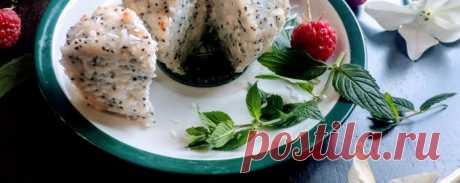 Творожный магкейк с маком и кокосом - Диетический рецепт ПП с фото и видео - Калорийность БЖУ