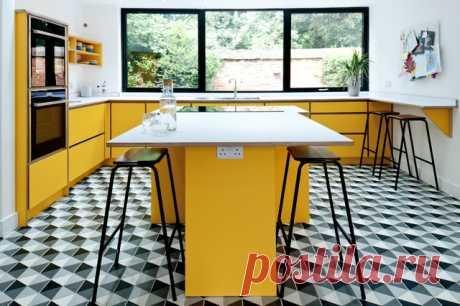 Просто фото: Солнечно-серое комбо Вдохновляемся проектами дизайнеров разных стран — заимствуем примеры удачных сочетаний желтого и серого в интерьере