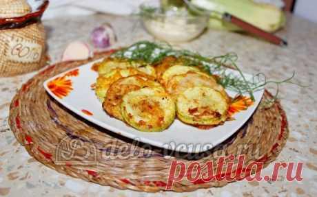 Кабачки жареные в кляре пошаговый рецепт (13 фото)