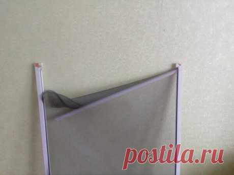 Как отремонтировать москитную рамку для пластиковых окон за несколько минут? | flqu.ru - квартирный вопрос. Блог о дизайне, ремонте