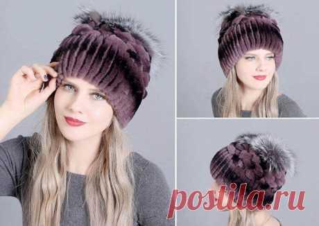 Зимние женские меховые шапки