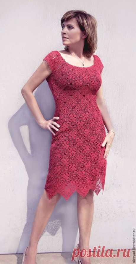 "Платье ""Lady in Red"""