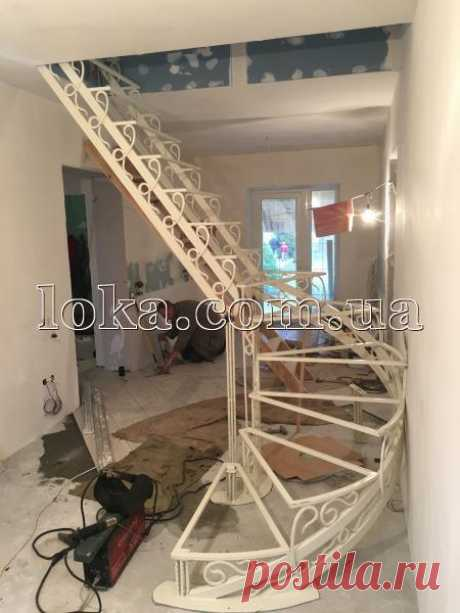 Кованые лестницы и перила | Лока, Славянск
