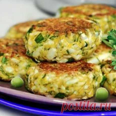 Рецепт: Оладьи дрожжевые с капустой