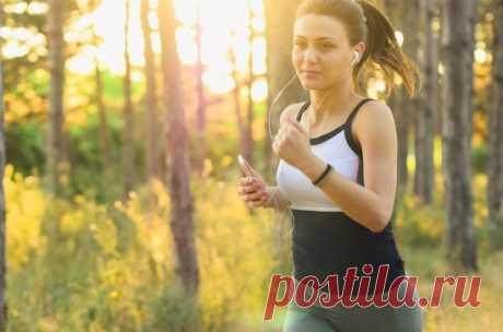 Сколько калорий сжигается во время бега или ходьбы. Худейте в движении