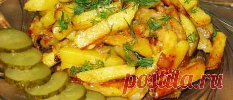 🍀 Жареная картошка с луком: классические и весьма оригинальные рецепты