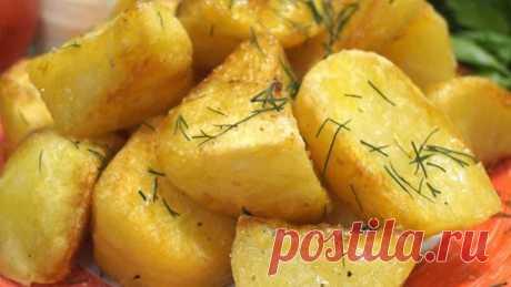 Идеальный картофель, Хрустящая корочка и нежное пюре внутри. Весь секрет в
