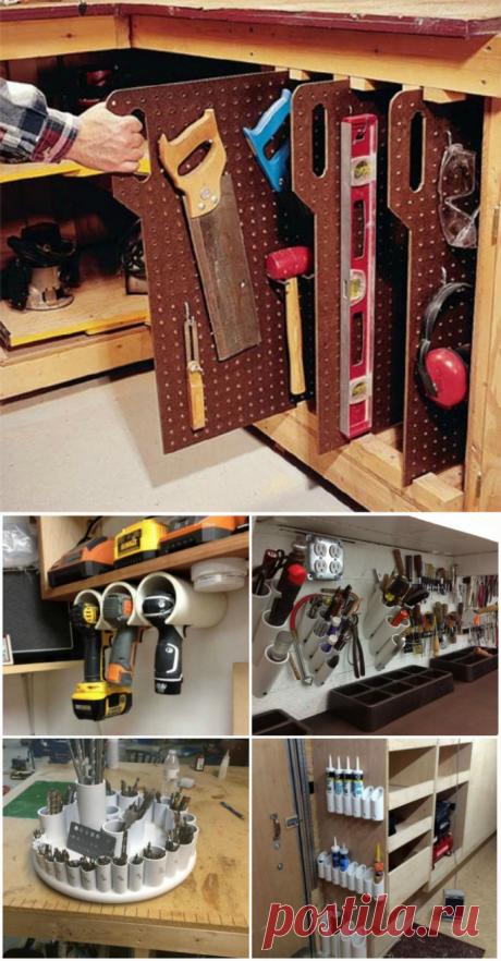 17 гениальных идей, которые помогут навести порядок в гараже . Чёрт побери