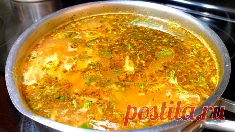 Повар научил готовить. Куриный суп, который едят все и просят добавки   Рецепты в гостях у Вани   Яндекс Дзен