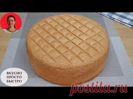 Идеальный Бисквит ✧ Который Никогда Не Опадает ✧ Бисквит Кастелла ✧ Perfect Sponge Cake ✧ SUBTITLES
