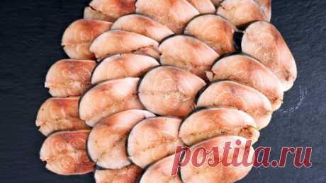 «Мурманское сало» или пряная малосольная маринованная скумбрия