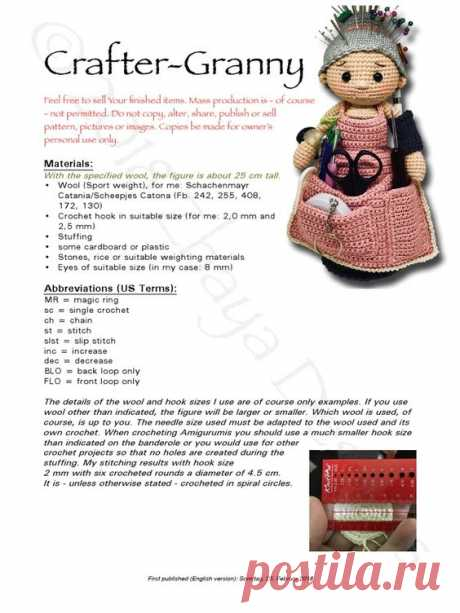 craftergranny_EN.pdf - Free download as PDF File (.pdf), Text File (.txt) or read online for free.
