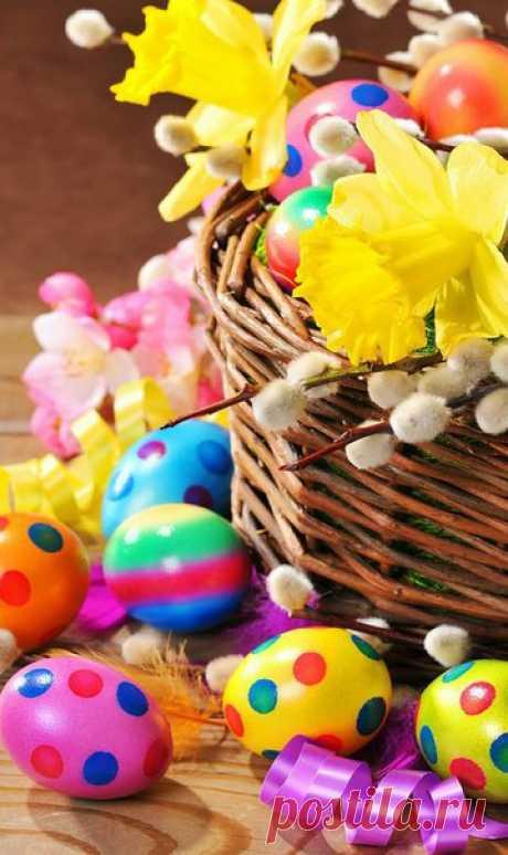Друзья, началась Пасхальная неделя. Светлые дни для каждого человека , когда нужно радоваться не только самим , но и дарить эту радость тому , кто рядом...