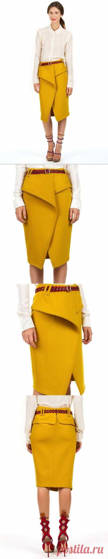 Любопытная юбка / Простые выкройки / Модный сайт о стильной переделке одежды и интерьера