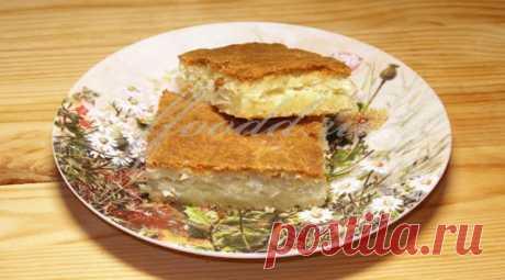 Пирог капустный вкуснючий