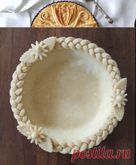 Слоеное тесто для пирога из сливочного масла - Elegant Pie