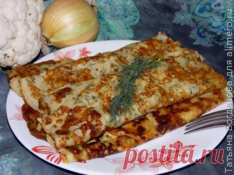 Блинчики с сыром и зеленью - МирТесен