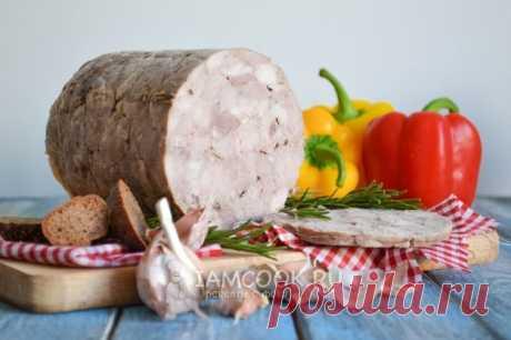 El jamón de la carne de cerdo en vetchinnitse — la receta con poshagovymi la foto y el vídeo