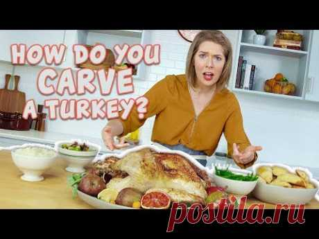 Turkey 101 Part 2 Easy Way to Carve a Turkey | You Can Cook That | Allrecipes.com