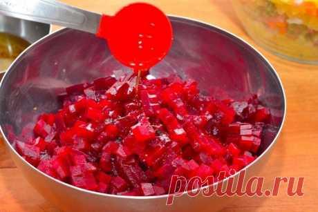 Рецепт винегрета быстрого приготовления: гораздо проще классического!