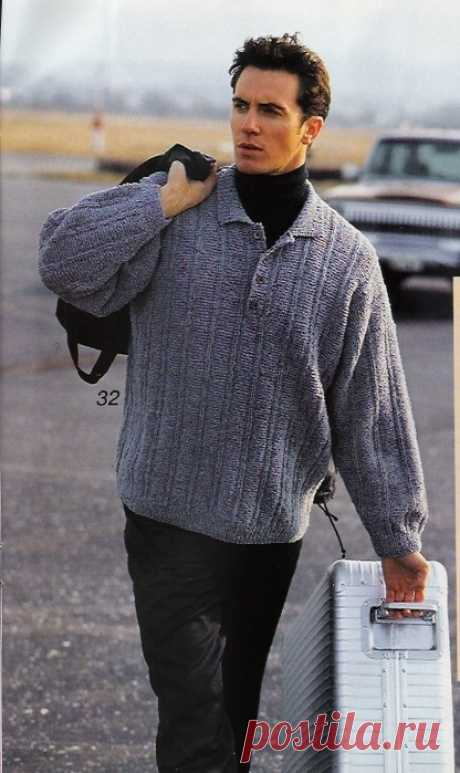 Pullover. Spokes.