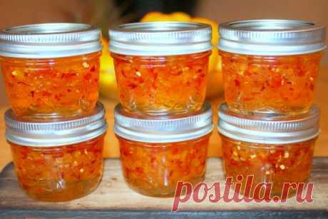 Перцы в желатине на зиму, рецепты с фото