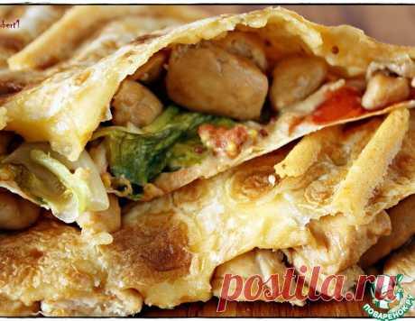 Перекус из лаваша – кулинарный рецепт